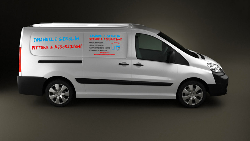 adesivi furgone grafica casarsa