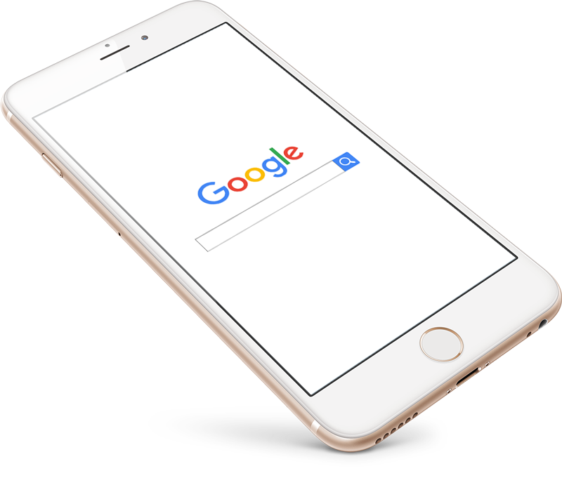 iPhone google seo