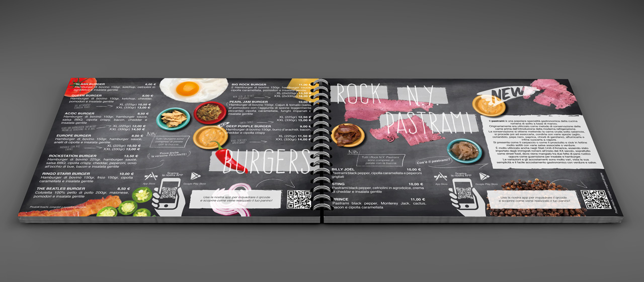 menu rockstation8591 cafe